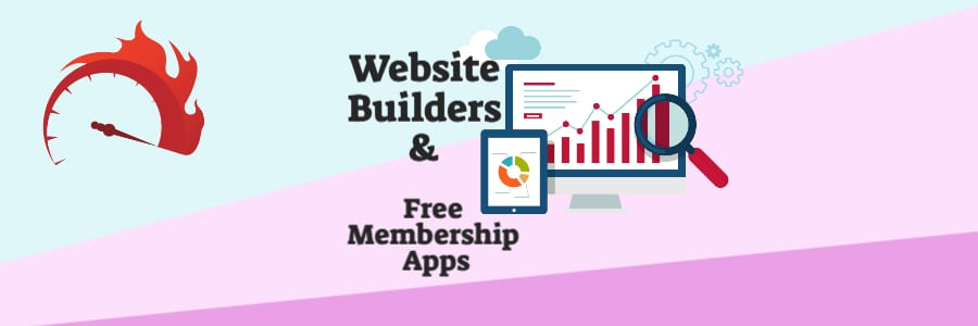 Featured image for the article about Website Builders and Free Membership Website Builder Apps