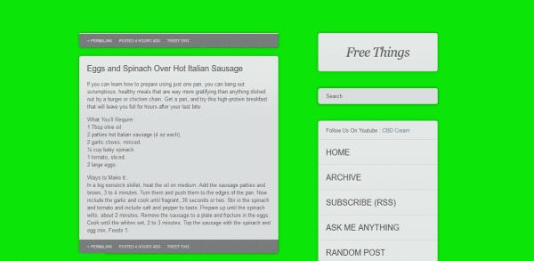 tumblrix green