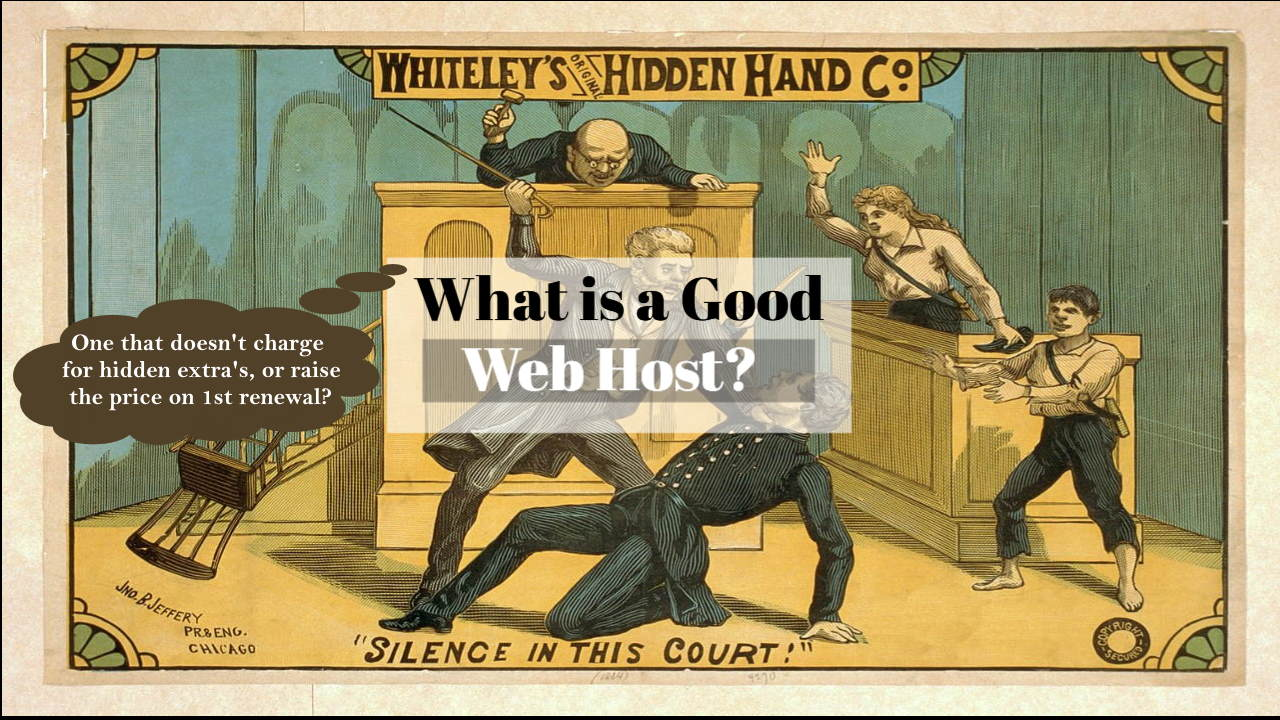 What is a Web Host? And, How To Choose a Good Cheap One