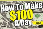 How to Make an Extra $100 a Day Creatively – Inspiration Within!