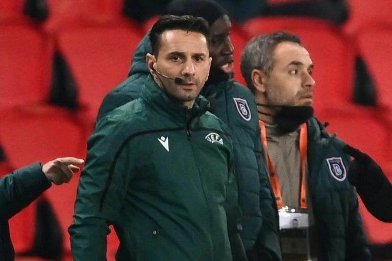 Official in suspended PSG-Basaksehir game banned for rest of season