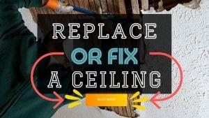 Repairing A Ceiling